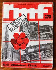 RMF Rail Miniature Flash 179 du 03/1978; Spécial Nuremberg
