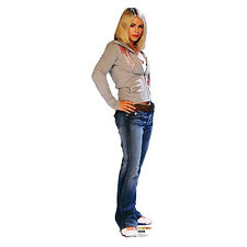 Doctor Who Dr. Who ROSE TYLER Billie Piper CARDBOARD CUTOUT Standup Standee
