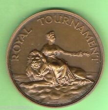 #S1.  1952  ROYAL TOURNAMENT FIRST PRIZE FENCING MEDAL, EPEE V EPEE