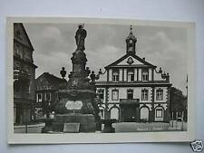 AK Rastatt i. Baden - Rathaus Brunnen