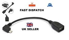 ON the Go OTG Cable Lead For Pad Tablet Mobile Phone Ect Micro Usb to A Female