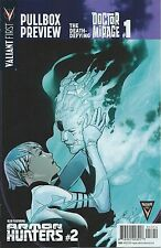 VALIANT FIRST PULLBOX PREVIEW DEATH DEFYING DR MIRAGE 1 RARE 2014 PROMO GIVEAWAY