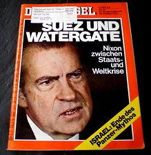 Der Spiegel 44/73 Titelbild: Suez + Watergate - Nixon zw Staats- und Weltkrise