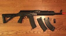 GHK AKM AK  Gas Blowback GBB  Airsoft Gun W/ 3 Mags , Upgrades (See Description)
