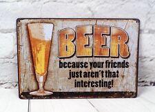 Beer Vintage Metal Plate Tin Signs Bar Pub Retro Antique Decoration Art Poster