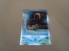 Carte catch Slam Attax Mayen 2010 Bleu - Chavo Guerrero - Signature Movie