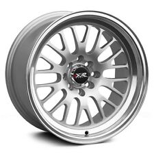 17X8 XXR 531 WHEELS 4X100/114.3 +25MM 73.1 HYPER SLIVER W/ML  FITS ACCORD CRX