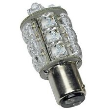 LED  24V  BA15D 20 LED  DOUBLE CONTACT INTERIOR LIGHT BULB     SF20DI-24-R