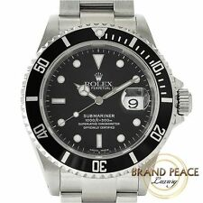 Rolex Submariner date 16610 Y-men's Free Shipping