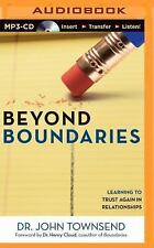 John Townsend BEYOND BOUNDARIES Learning to Trust Again Unabridged MP3-CD *NEW*