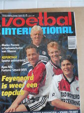 VOETBAL INTERNATIONAL 30-09-1998 Feyenord Ajax Nac   [P64]