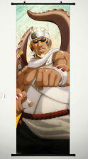 Wall Scroll Poster Fabric Painting Anime Naruto Killer Bee 49.2 X17.7 inches