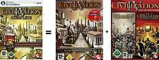 Civilization 4 complete + caudillos + Beyond the Sword impecable