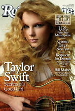 "2009 Taylor Swift Rolling Magazine Poster Approx 22"" x 34"" Store Stock Last One!"