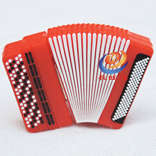Red Accordion Music Instrument 16Gb Novelty USB Flash Drive Memory Stick Gift
