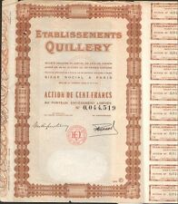 Etablissements QUILLERY (P)