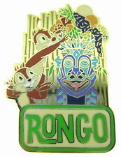2013 Disney Enchanted Tiki Room 50th Anniversary Chip and Dale with Rongo Pin N3