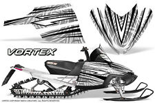 ARCTIC CAT M CROSSFIRE SNOWMOBILE SLED GRAPHICS KIT WRAP CREATORX VORTEX BW
