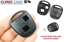 Remote Key Fob 2 Button Shell Case & screw Toyota Corolla Avensis RAV4 Yaris
