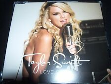 Taylor Swift Love Story Rare Australian 2 Track CD Single