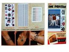 One Direction 'Jewelry' Temporary Tattoos Brand New Gift