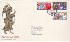 GB Stamps First Day Cover Christmas Religious Themes pre dec. Edinburgh CDS 1969