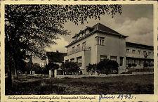 Franzensbad Sudetengau alte Postkarte 1942 Reichspost Ministerium Erholungsheim