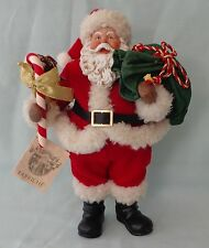 FABRICHE THE GREAT AMERICAN SANTA CLAUS MUSICAL music box FIGURINE kurt s adler