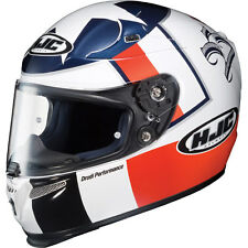 HJC RPS-10 Ben Spies LE Street Motorcycle Helmet Red White Blue 2XLarge 2XL