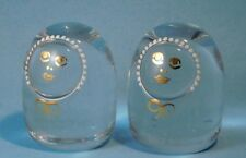 Kosta Boda Sweden Art Glass Goran Warff Annual Family Twins Lars Lisa 1972