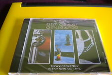 Van Der Graaf Generator First Generation (Scenes From 1969-1971) CD NEW SEALED