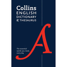 Collins English Dictionary and Thesaurus (Paperback), Back to School, Brand New