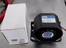 ECCO BACK-UP ALARM  MODEL 810 HEAVY EQUIPMENT TRUCK ALARM 12-36VDC 97DB(A)