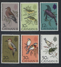 CAYMAN ISLANDS - 1974 BIRDS SET MNH  SG.337-342  (REF. A26)