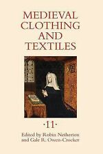 MEDIEVAL CLOTHING AND TEXT - ROBIN NETHERTON GALE R OWEN-CROCKER (HARDCOVER) NEW