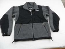 Great Northface Womens Cute Gray & Black Denali Fleece Liner Jacket Coat Sz S