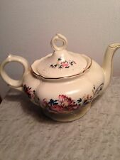 """Lefton Musical Teapot  Plays  """"Tea for Two""""Excellent condition Just so neat! $24"""
