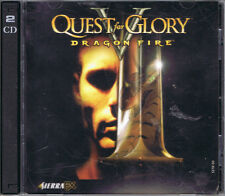 Quest for Glory V: Dragon Fire (PC, 1998, Sierra On-Line, 2-Disc)
