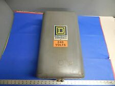 Square D Class 8502 Type EG-2 Series A Size 3 Starter in Enclosure 8502-EG2 A
