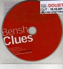 (CI173) Bensh Clues, Doubt - 2011 DJ CD