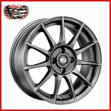 "Cerchio in lega OZ MSW 85 Matt Gun Metal 14"" Ford FIESTA"