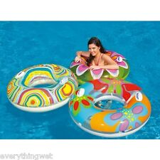 POOL FLOAT INFLATABLE HAWAIIAN RAFT TUBE INTEX TOY FUN Swim Rapids ride river