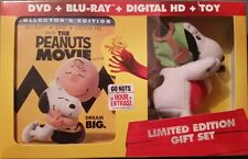 THE PEANUTS MOVIE (BLU-RAY/DVD/2016/DIGITAL COPY/LIMITED ED. GIFT SET/2016/NEW!