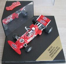 F1 1/43 MARCH 711 A. SOLER ROIG FRENCH GP 1971 QUARTZO 4121