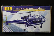YR088 HELLER 1/72 maquette helicoptere 80286 SA316 Alouette III Gendarmerie