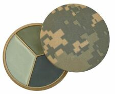 Milspec US Army Military Face Paint ACU Camo 3 Color Sand Grey Foliage Grn 9107
