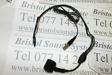 Stageline HSE-90 Headset microphone 3 pin Mini XLR con