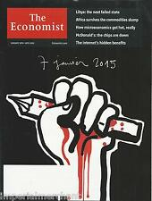 The Economist magazine Charlie Hebdo Libya Africa McDonalds Internet benefits