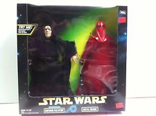 Star Wars 12in Action Figure Emperor Palpatine & Royal Guard Collection NRFB MIB