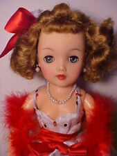 """Vintage 1950s 18"""" MISS REVLON DOLL - VT-18 Black and White Formal w/ Accessories"""